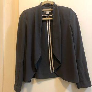 Charcoal grey h&m blazer